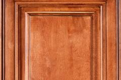 Chocolate Maple Glazed Kitchen Door