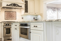 Creme Maple Glazed Kitchen
