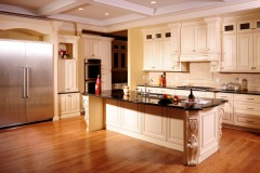 Creme Glazed Maple Kitchen