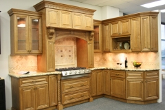 Cinnemon Glazed Maple Kitchen