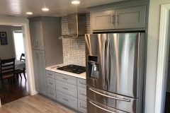 Grey Shaker Maple Cabinets