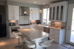 White Shaker Contemporary Cabinets