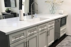 Dove Transitional Cabinets