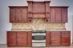 Mahogany Maple Kitchen Cabinet