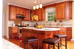 Mocha Glazed Maple Kitchen