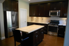 Black Coffee Shaker Kitchen Cabinets
