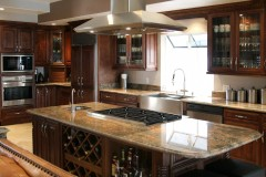 Chocolate Glazed Maple Kitchen