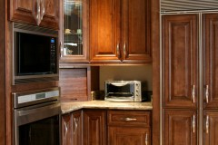 Chocolate Glazed Maple Kitchen Cabinets