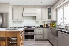 Greige Maple Kitchen
