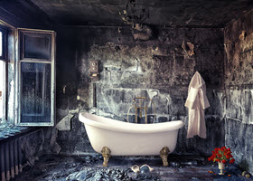 Bathroom in Bad Condition
