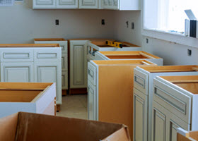 Pre-Assembled Kitchen Cabinetry