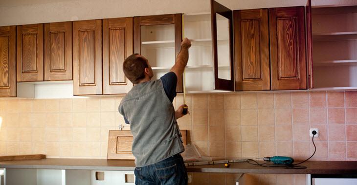 Kitchen Cabinet Unit Construction