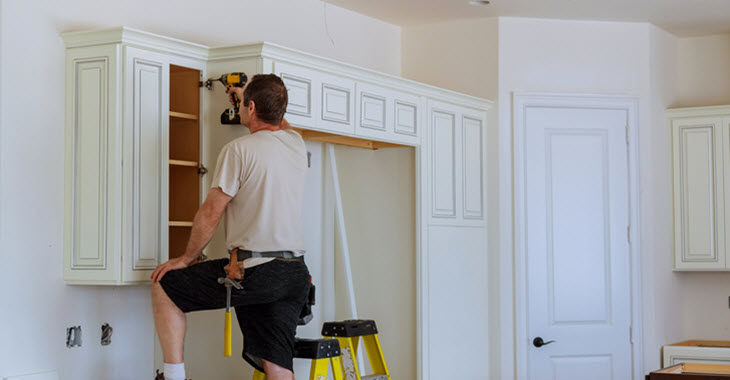 Kitchen Cabinet Door Installation