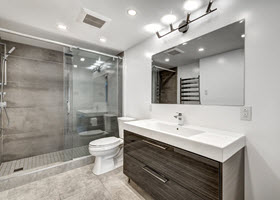 Bathroom After Remodelling