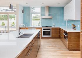 Unique Kitchen Backsplash
